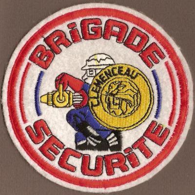 PA Clemenceau - Brigade de Sécurité - mod 1