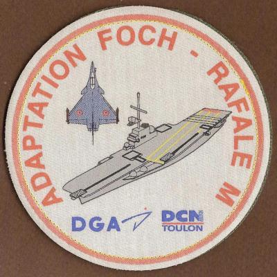 PA FOCH - Adaptation FOCH RAFALE M - mod 2