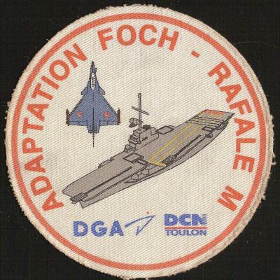 PA FOCH - Adaptation FOCH RAFALE M
