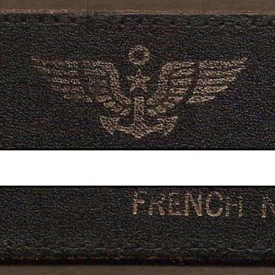 Patch Patronymique - Cuir - mod 5 M