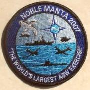 Exercice noble manta 2007